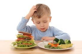 Demasiada comida para un pequeño estómago