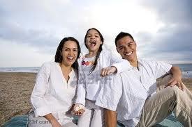Familia sana y feliz