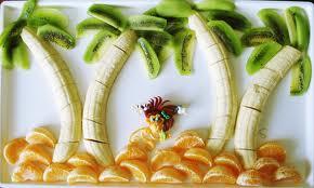 Comer fruta puede ser divertido y es muy sano