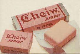 Chicles Cheiw de fresa ¿Cuántos me habré comido de estos?