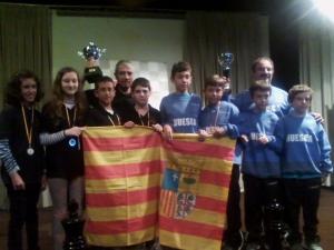 Campeones y subcampeones de España