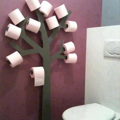 Árbol guarda- rollos de papel