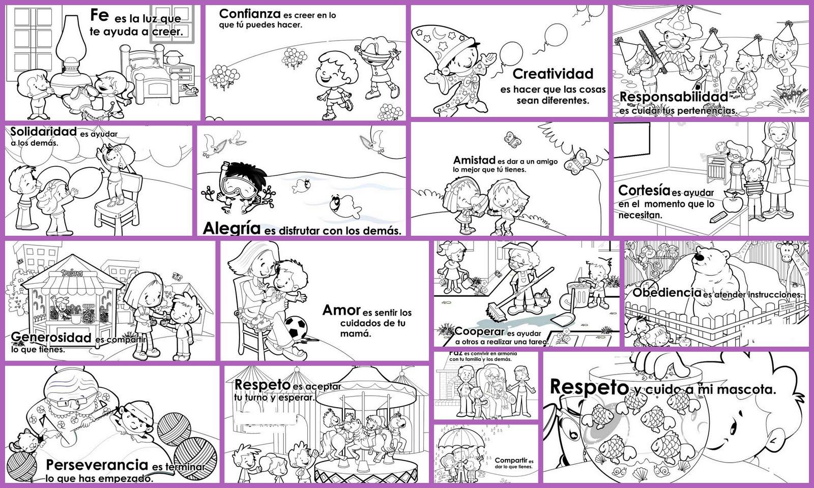 Educando En Valores A Través Del Dibujo Samara Educación