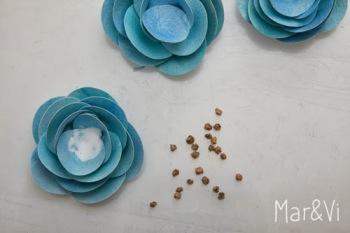 DIY: Románticas flores de papel