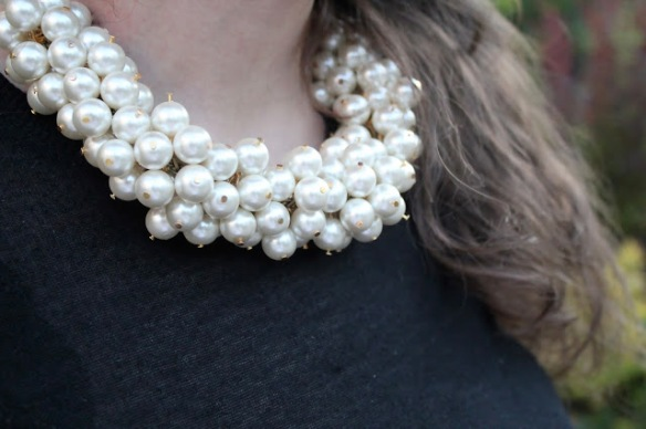 Diy collar perlas chanel 07