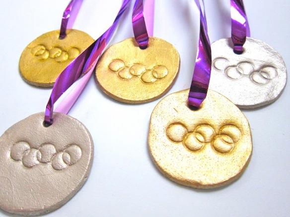 medallas de masa de sal
