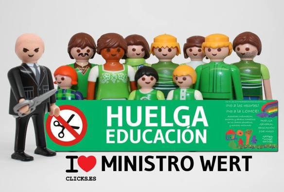 LA EDUCACIÓN SE DEFIENDE, NO SE VENDE.