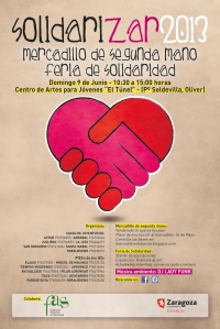 Cartel SOLIDARIZAR 2013