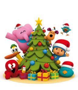 Pocoyo y la Asociación os desea Feliz Navidad y un Próspero 2014