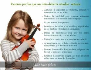 Por qué es importante la educación musical
