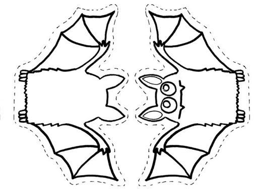 titeres halloween para colorear (17)   Samara Educación