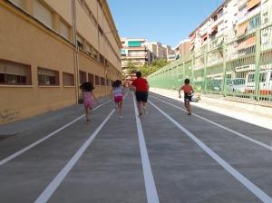 Nuevas pistas de atletismo del CEIP Marcos Frechín