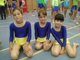 gimnastas exhibición