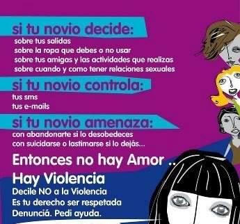 Entonces no hay amor hay violencia