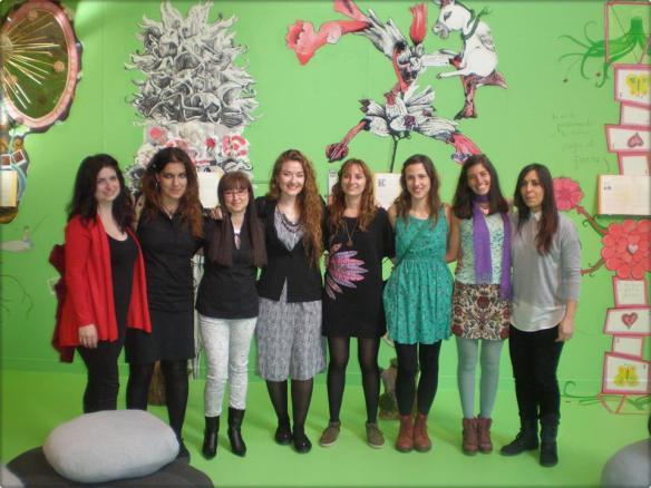 Chicas de Proyecto Cierzo