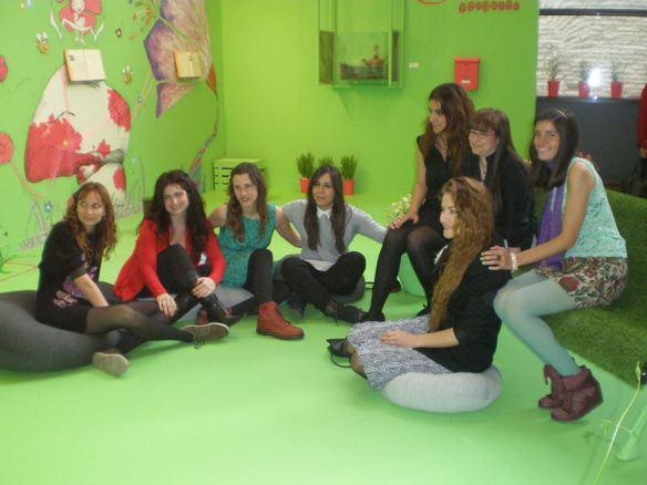 Las chicas de Proyecto Cierzo