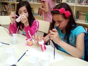 Creando muñecos-bolos