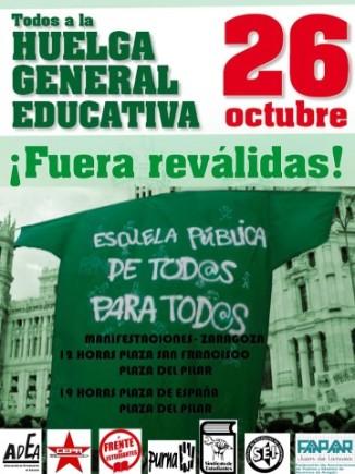 Huelga 26 de octubre